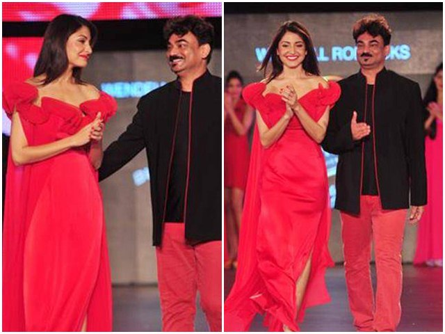 Anushka Sharma For Wendell Rodricks at the Blenders Pride Fashion Week 2011