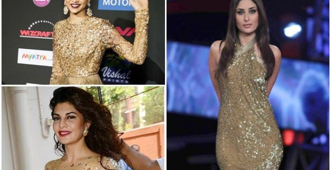 Bollywood Actresses who Look Gorgeous in Golden 1