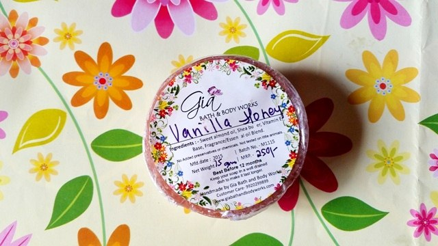 Gia Bath & Body Works Vanilla Honey Soap Review