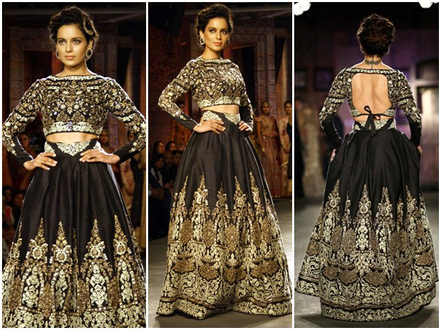 Kangana Ranaut At the India Couture Week 2014