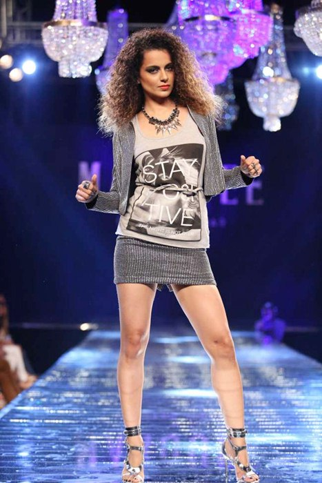 Kangana Ranaut Walking for VERO MODA's Marquee