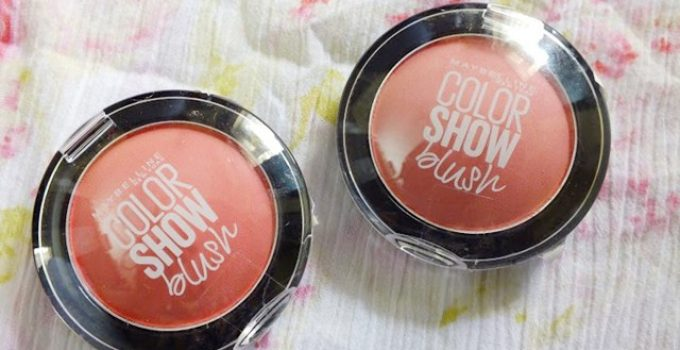 Maybelline Color Show Blush Peachy Sweetie and Fresh Coral
