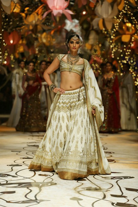 Sonam Kapoor At the India Bridal Fashion Week Delhi