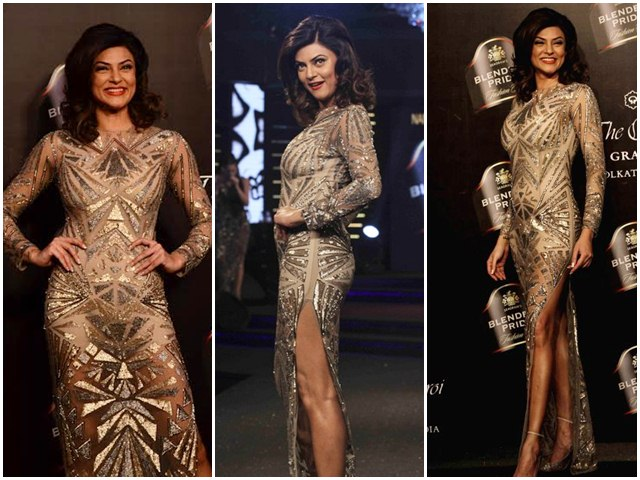 Sushmita Sen At the Blenders pride Fashion Tour 2014