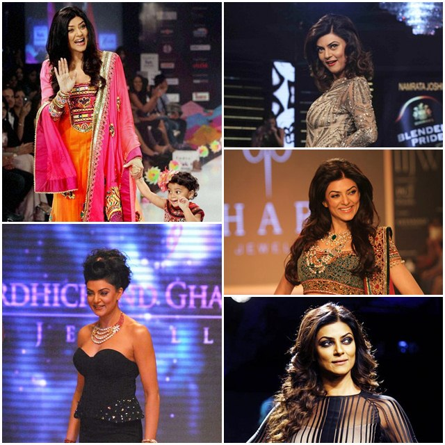 Sushmita Sen Sets the Ramp on Fire with These Stunning Looks