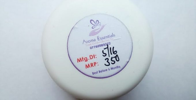 Aroma Essentials Sandal Body Butter Review