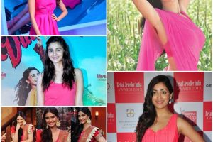 Bollywood Actresses Who Look Pretty in Pink
