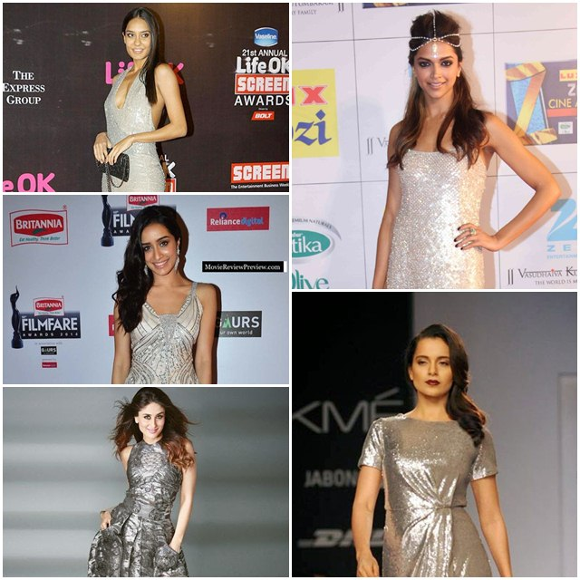 Bollywood Actresses Who Look Sizzling in Silver, Bollywood Actress, Bollywood Actress in Silver Dress