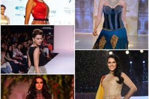 Hot and Bold Runway Looks of Neha Dhupia