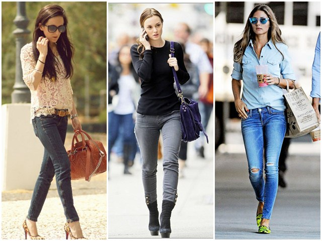 Jeans - do you know how and when girls start wearing Jeans