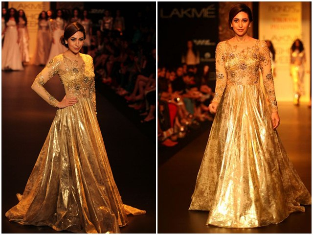 Karishma Kapoor At LFW Winter/Festive 2013