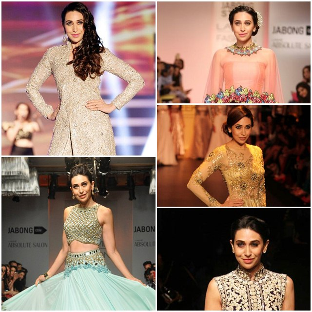 Karishma Kapoor's Charismatic Ramp Appearances
