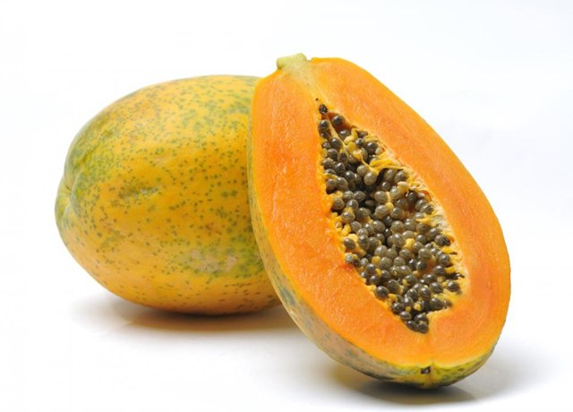 Papaya, fruits