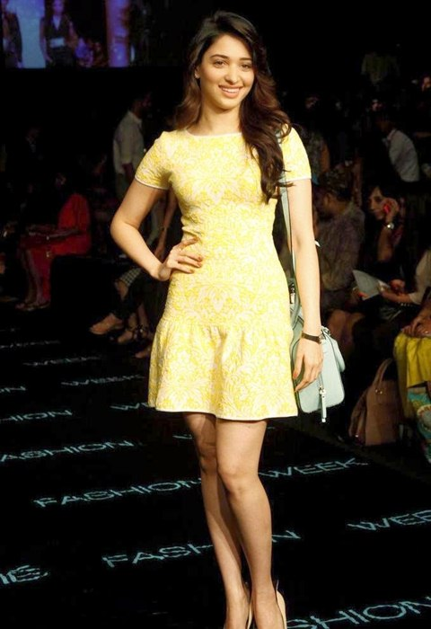 Tamannaah At The LFW Summer Resort 2014