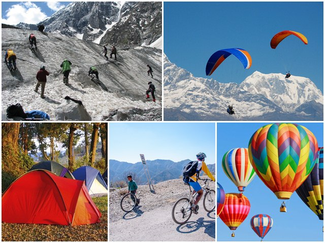 Travel Adventures in India, adventure sports in India, India, adventure sports
