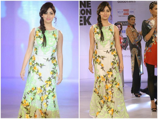Yami Gautam At Jabong Online Fashion Week 2014
