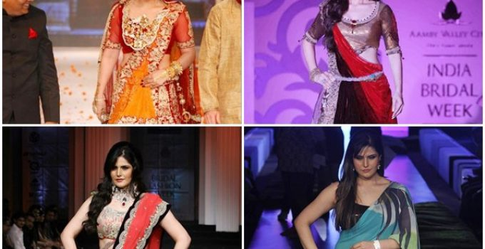 Zarine Khan Rocks the Ramp with Her Imperishable Looks