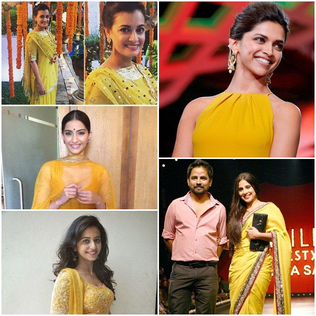 Bollywood Actresses Who Look Lovely in Yellow, Bollywood Actress, Bollywood Actress in Yellow Outfit