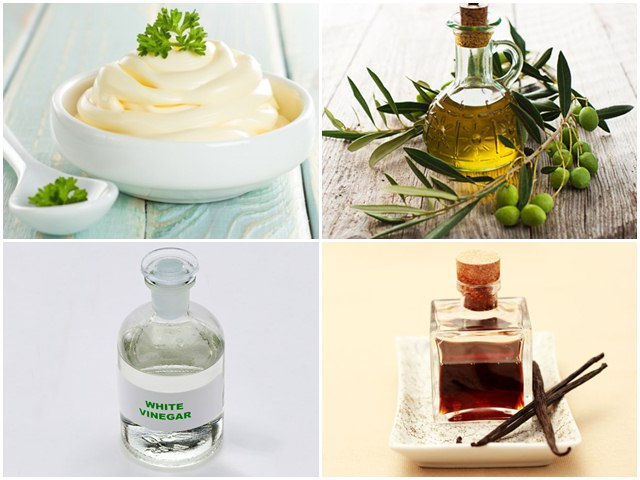 Mayonnaise and Olive Oil Mask for Hair Breakage ingredients, hair Mask, Hair Breakage