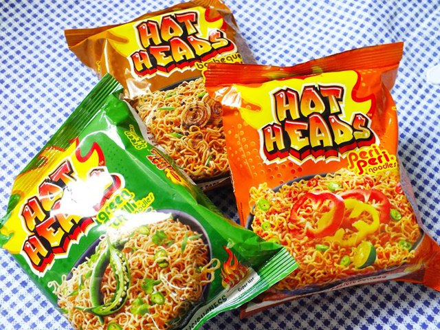 Maggi Hot heads Tasting and Review, Maggi, Maggi Hot heads