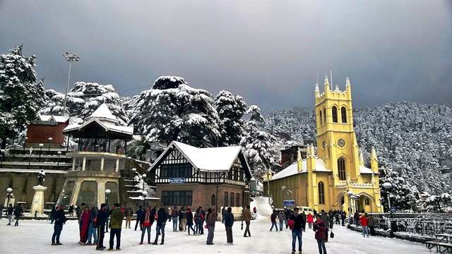 Shimla, Domestic Destinations for Winter Holidays