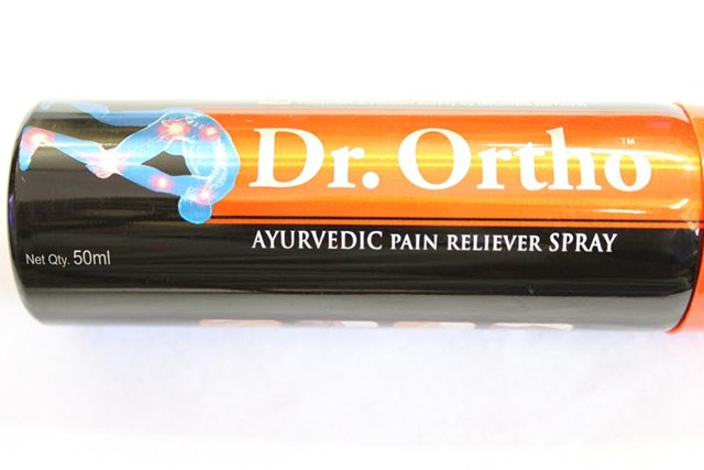 Dr Ortho Ayurvedic Joint Pain Relief Spray 1, Dr Ortho, Ayurvedic Joint Pain Reliever