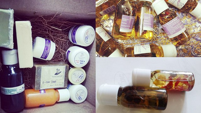 Aroma Essentials, Toxin Free Massage Oils