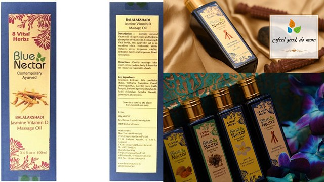 Blue Nectar, Toxin Free Massage Oils