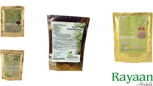 Ishaan Enterprises Rayaan Herbals, Chemical Free Hair Packs