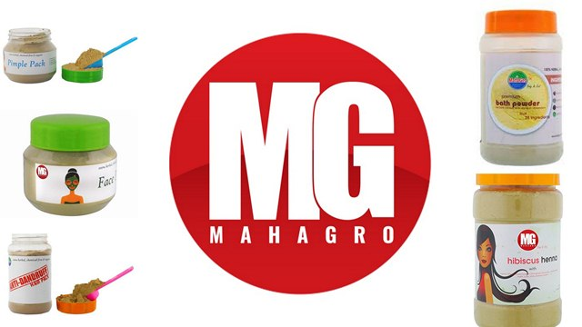 MahaGro, Chemical Free Hair Packs