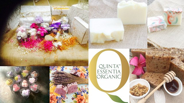 Quinta Essentia Organics, Chemical Free Hair Packs
