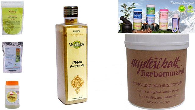 Top Herbal Bath Powders or Body Ubtans In India, Herbal Bath Powders or Body Ubtans