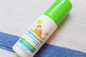 Mamaearth Mineral Based Sunscreen For Babies bottle, Mamaearth, Sunscreen For Babies
