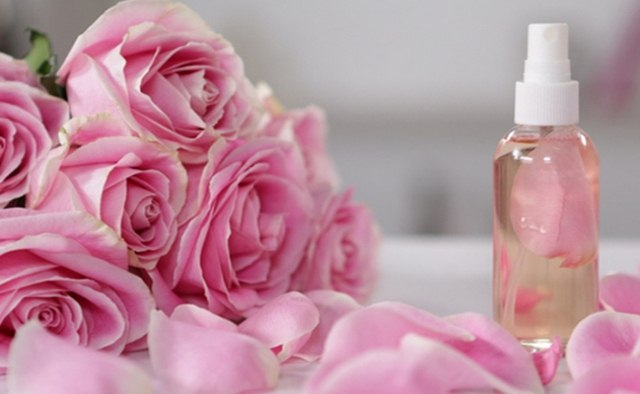 Rose water, skin care staples