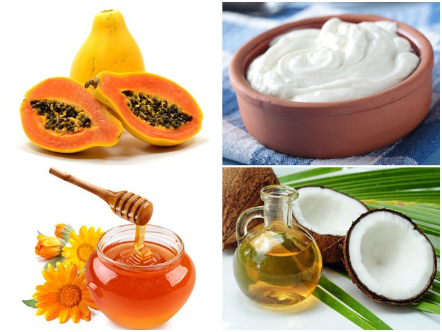Ingredients to make Homemade Papaya Hair Mask for Beautiful Hair, Papaya Hair Mask for Beautiful Hair