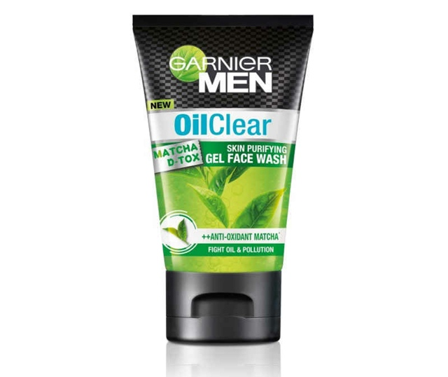 Garnier Men Introduces the New Oil Clear Matcha D-Tox Skin Purifying Gel Face Wash, Garnier Men Oil Clear Matcha D-Tox Skin Purifying Gel Face Wash, Garnier Men, Face Wash