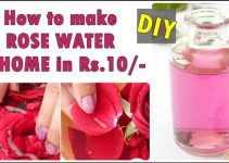 How to Make Rose Water at Home, Homemade rose water