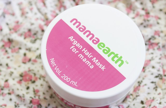 Mamaearth Argan Hair Mask, Mamaearth Hair Mask, Chemical Free Hair Mask