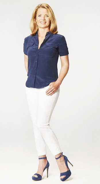 White Denim and navy blue, How to Style White Denim