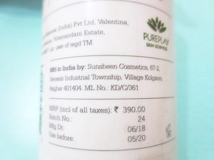 Plum Green Tea Alcohol Free Face Toner details