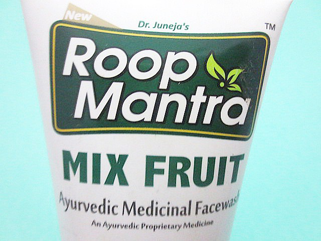 Roop Mantra Mix Fruit Ayurvedic Medicinal Facewash packaging, Roop Mantra Mix Fruit Ayurvedic Medicinal Facewash, Roop Mantra Mix Fruit Facewash, Roop Mantra Facewash, Ayurvedic face wash, fruit face wash, face wash for dry skin, face wash