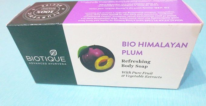 Biotique Advanced Ayurveda Bio Himalayan Plum Body Soap Review