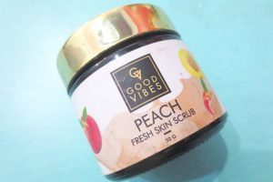 Good Vibes Peach Fresh Skin Scrub Review