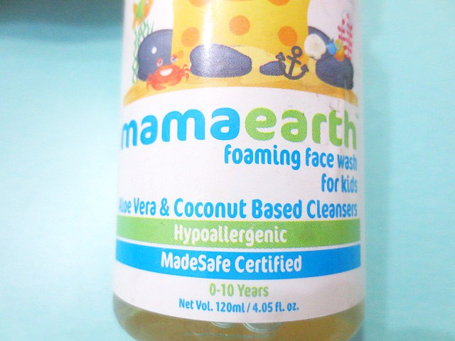 Mamaearth Foaming Face Wash for Kids packaging, Mamaearth Foaming Face Wash for Kids, Face wash for kids, Foaming face wash for kids, Kids face wash, Soap free face wash for kids, Paraben free face wash for kids, SLS free face wash for kids