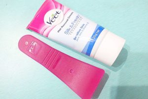 Veet Silk & Fresh Hair Removal Cream for Sensitive Skin Review