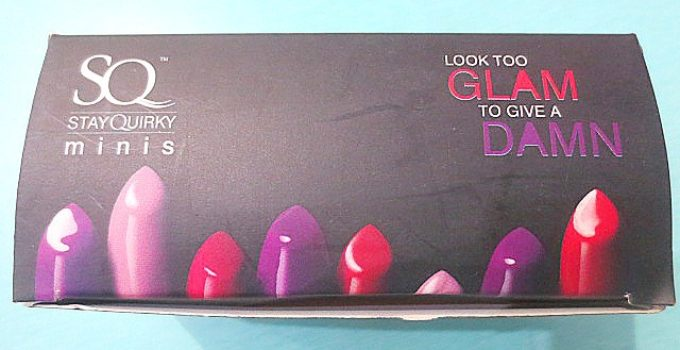 Stay Quirky Mini Lipsticks Review