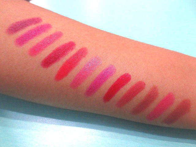 Stay Quirky Mini Lipsticks swatch, Stay Quirky Mini Lipsticks, Stay Quirky Mini Lipsticks Kit 1, Soft matte lipsticks, Mini lipsticks, Mini lipsticks kit, Lipsticks kit, Lipstick