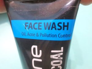 Trycone Charcoal Face Wash packaging